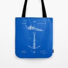 Anchor Patent - Blueprint Tote Bag