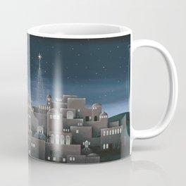 Bethlehem Night Nativity Scene Coffee Mug