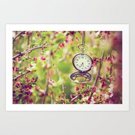 A time to remember Art Print