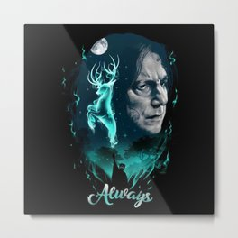 Severus Snape Metal Print