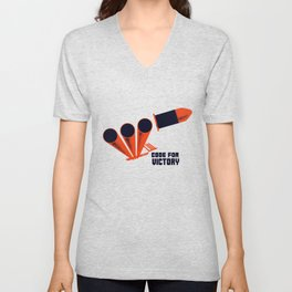 Code For Victory -- WW2 Unisex V-Neck