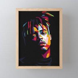 Juice wrld Framed Mini Art Print