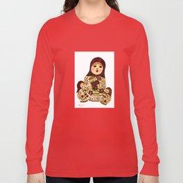 Russian dolls 2 / warmer colors  Long Sleeve T-shirt