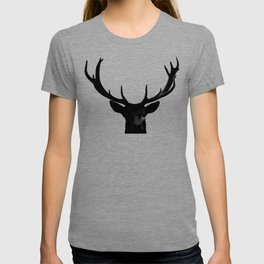 Black Deer Silhouette A273 T-shirt