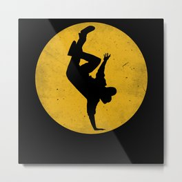 Breakdancing B-Boy Dance Breakdance Metal Print