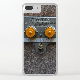 Fire Hydrant Clear iPhone Case