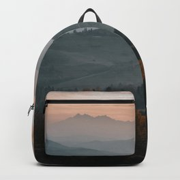 Hazy Mountains - Landscape and Nature Photography Backpack