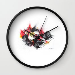 Senna, a true hero. Wall Clock