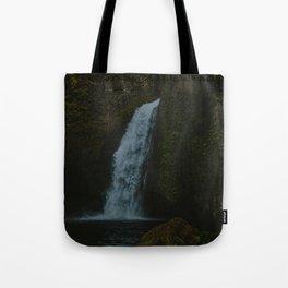 Wahclella Falls x Columbia River Gorge Tote Bag