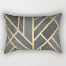 Art Deco Geometry 1 Rectangular Pillow