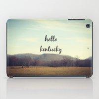 kentucky iPad Cases featuring Hello Kentucky by KimberosePhotography