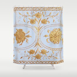 lilac pianissimo Shower Curtain