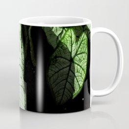 White Leaves Coffee Mug