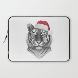 Christmas Tiger Laptop Sleeve