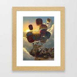 Way Up High Framed Art Print