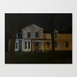 A Very Old House I Know Canvas Print