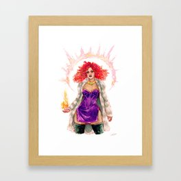 DC Kory Framed Art Print