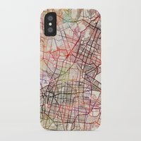 mexico iPhone & iPod Cases featuring Mexico by MapMapMaps.Watercolors