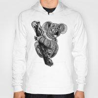 ornate Hoodies featuring Ornate Koala by BIOWORKZ