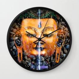 Buddha Flare Wall Clock