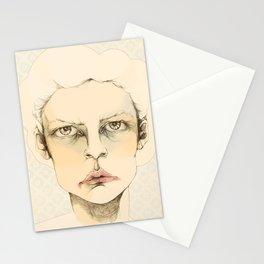 """portrait of anybody"" Stationery Cards"
