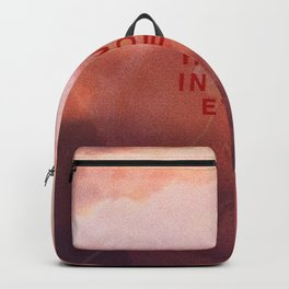 Heaven In Your Eyes Backpack