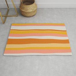 sedona, desert stripes Rug