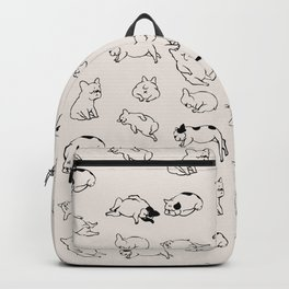 More Sleep Frenchie Backpack