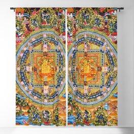 Mandala Buddhist 2 Blackout Curtain
