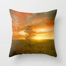Sunset I C. VII Throw Pillow