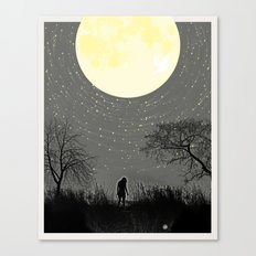 My Darkest Star Canvas Print