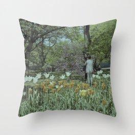 Brooklyn Botanic Garden Throw Pillow