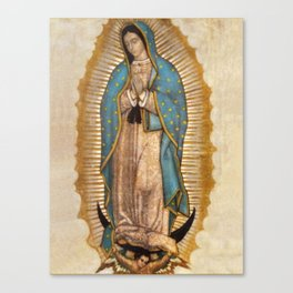 Virgin Guadalupe Canvas Print