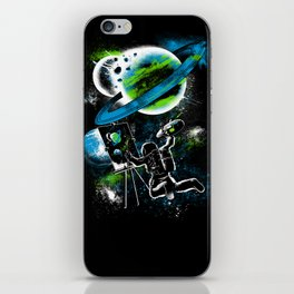 space Painting iPhone Skin
