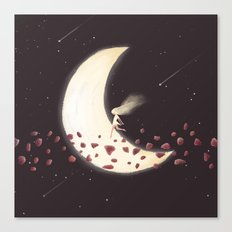 Lunar Child Canvas Print