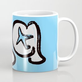 LA Los Angeles blue Coffee Mug