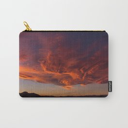 Desert Sky on Fire Carry-All Pouch