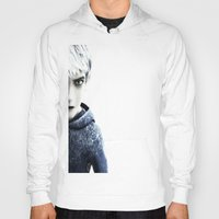 jack frost Hoodies featuring Jack Frost  by LaurenMichelle