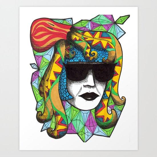 Incognito Art Print