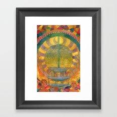 Days of Creation Framed Art Print