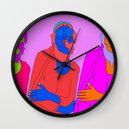 life's a party Wall Clock