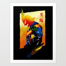 Hero Within Us Art Print