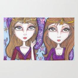 Fortune Teller faeries Rug