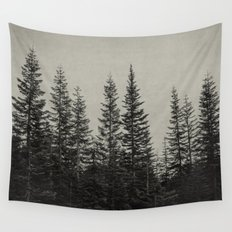 the edge of the forest Wall Tapestry