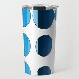 Spots and Stripes Travel Mug
