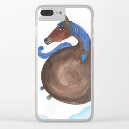 Horse In The Sky Clear iPhone Case