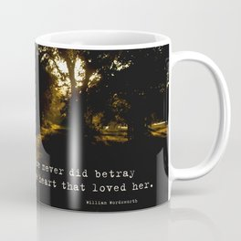 The heart that loved her. Coffee Mug