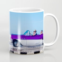 Waves and Classic Cars of the Malecón - 4 Mug