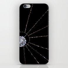 white web iPhone & iPod Skin
