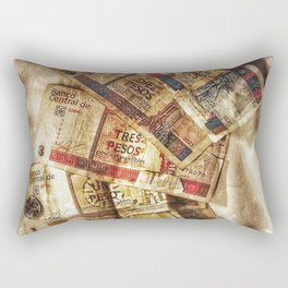 Cuban Cuc Rectangular Pillow
